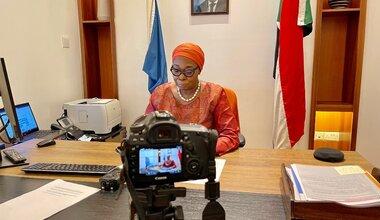 Ms. Khardiata Lo N'Diaye, Deputy Special Representative, Resident, and Humanitarian Coordinator for Sudan